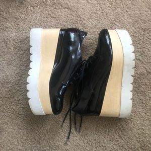 Jeffrey Campbell gently used platform shoes